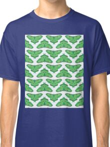 Luna Moth // botanical nature green large moths andrea lauren  Classic T-Shirt