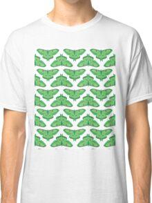 Luna Moth // botanical nature green large moths andrea lauren  Classic T-Shirt