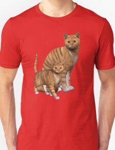 Ginger Tabbies  Unisex T-Shirt