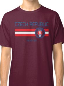 Euro 2016 Football - Czech Republic (Away White) Classic T-Shirt