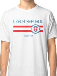 Euro 2016 Football - Czech Republic (Away White) Classic T-Shirt