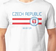 Euro 2016 Football - Czech Republic (Away White) Unisex T-Shirt