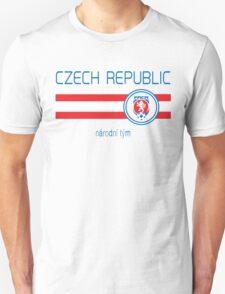 Euro 2016 Football - Czech Republic (Away White) T-Shirt