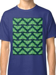 Luna Moth // botanical nature woodland butterfly moth andrea lauren  Classic T-Shirt