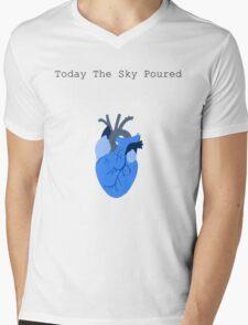 Today The Sky Poured Mens V-Neck T-Shirt