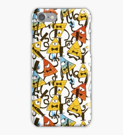 Bill Cipher pattern - colours iPhone Case/Skin