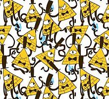 Bill Cipher pattern - plain by noxira