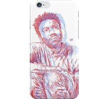 3D Gambino (no backrgound) iPhone Case/Skin