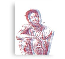 3D Gambino (no backrgound) Canvas Print