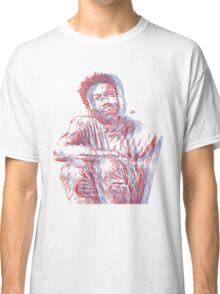 3D Gambino (no backrgound) Classic T-Shirt