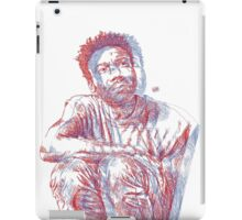 3D Gambino (no backrgound) iPad Case/Skin