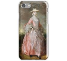COUNTESS HOWE  Gainsborough iPhone Case/Skin