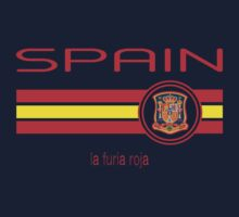 Euro 2016 Football - Spain (Away White) One Piece - Short Sleeve