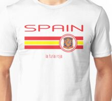Euro 2016 Football - Spain (Away White) Unisex T-Shirt