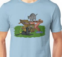 Cats a Fishing Unisex T-Shirt
