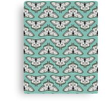 Luna Moth // botanical nature woodland butterfly moth andrea lauren  Canvas Print