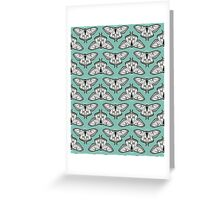 Luna Moth // botanical nature woodland butterfly moth andrea lauren  Greeting Card