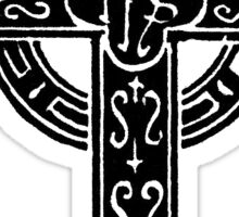 Episcopal Cross Sticker