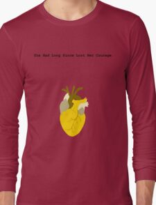 She Had Long Since Lost Her Courage Long Sleeve T-Shirt