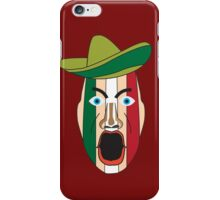 Angry Mexican face iPhone Case/Skin