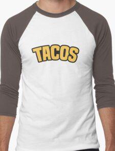Yamaguchi's Tacos Shirt Design Men's Baseball ¾ T-Shirt