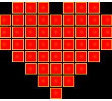 Pixel Heart 8-Bit Photographic Print