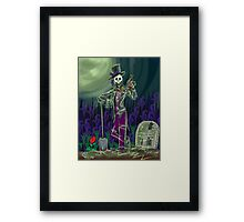 Baron Samedi  Framed Print