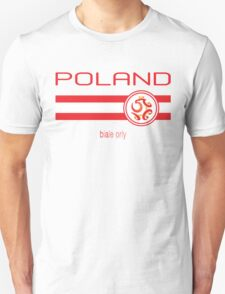 Euro 2016 Football - Poland (Home White) T-Shirt