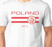 Euro 2016 Football - Poland (Home White) Unisex T-Shirt