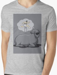 CARTOON SHEEP DREAM VECTOR T-Shirt