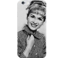 Debbie Reynolds Hollywood Actress iPhone Case/Skin
