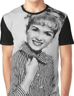 Debbie Reynolds Hollywood Actress Graphic T-Shirt