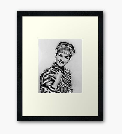 Debbie Reynolds Hollywood Actress Framed Print