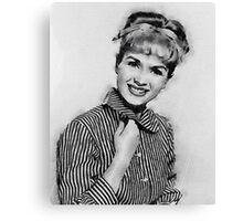 Debbie Reynolds Hollywood Actress Canvas Print