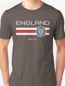Euro 2016 Football - England (Away Red) T-Shirt