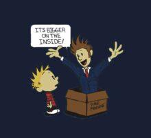Calvin meets Dr. WHO Kids Tee