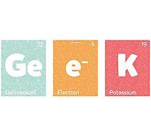 Geek T-Shirt #A021 Photographic Print