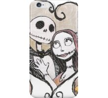 Jack and Sally Nightmare Before Christmas iPhone Case/Skin