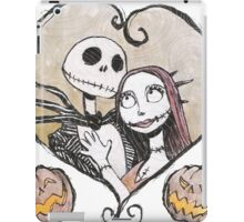 Jack and Sally Nightmare Before Christmas iPad Case/Skin