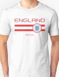 Euro 2016 Football - England (Home White) Unisex T-Shirt