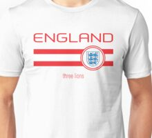 Euro 2016 Football - England (Home White) Unisex T-Shirt