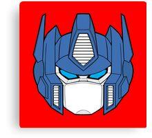 Transformer Optimus Prime Decepticon Canvas Print