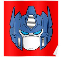 Transformer Optimus Prime Decepticon Poster