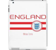 Euro 2016 Football - England (Home White) iPad Case/Skin