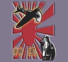 WAR PLANE, ZERO, JAPAN, Kamikazi, Zero Pilot, Japanese, World War Two, WWII, Kids Tee