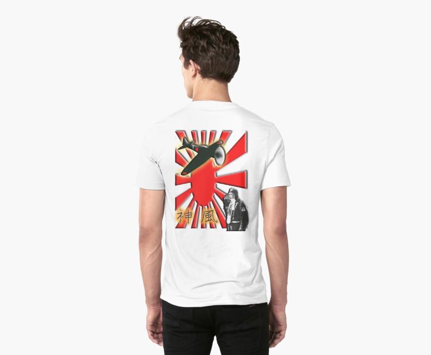 WAR PLANE, ZERO, JAPAN, Kamikazi, Zero Pilot, Japanese, World War Two, WWII, by TOM HILL - Designer