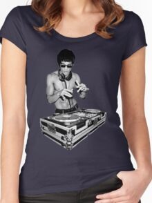 Dj I love Women's Fitted Scoop T-Shirt