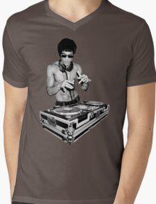 Dj I love Mens V-Neck T-Shirt