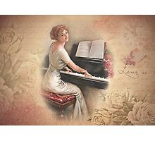 Music for friends Photographic Print