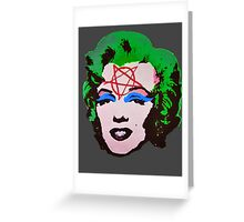 Happy Marylin Greeting Card